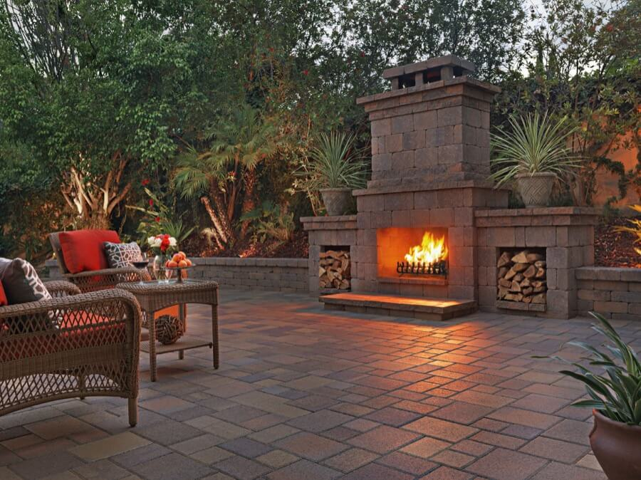 45 Beautiful Outdoor Fireplace Ideas | Install-It-Direct