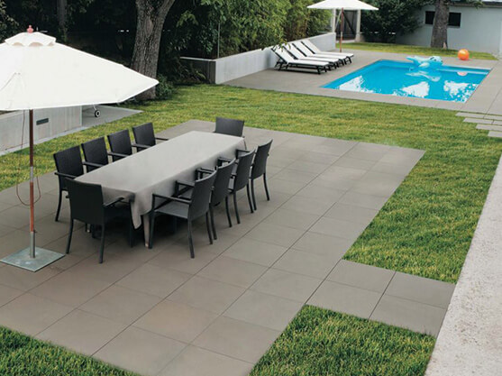 Showcase Your Patio With A Large And Luxurious Style Paving Stone.