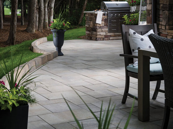 59 Beautiful Paver Patio Ideas For Your, Large Paving Stones Patio