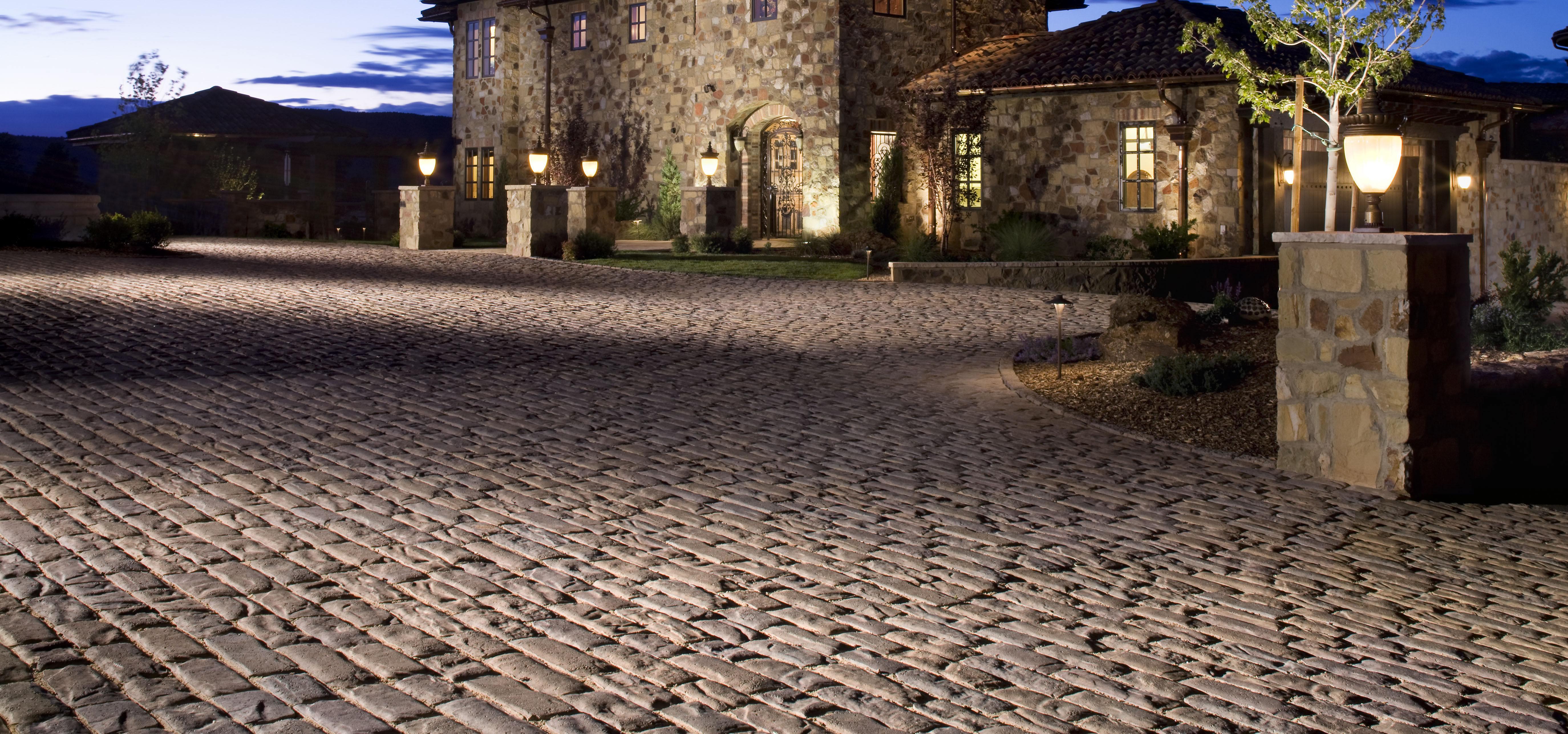 Stone & Concrete Driveway Pavers
