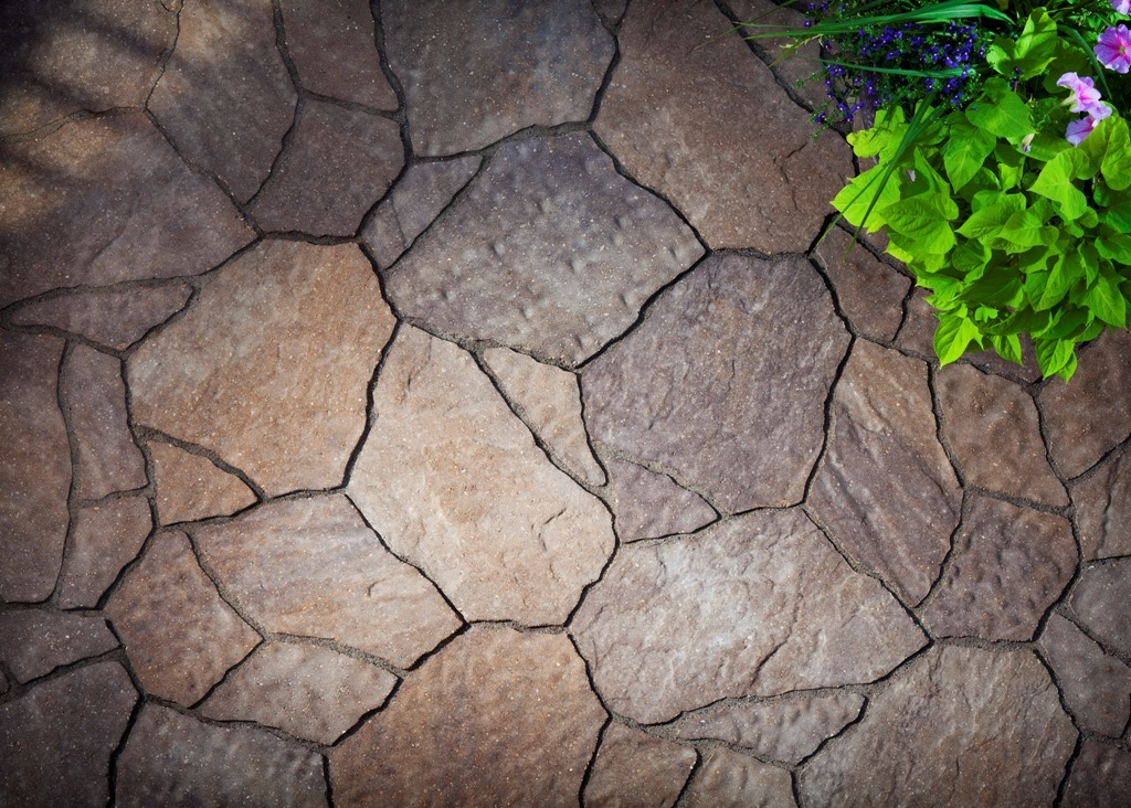 Lovely Flagstone Paver Texture