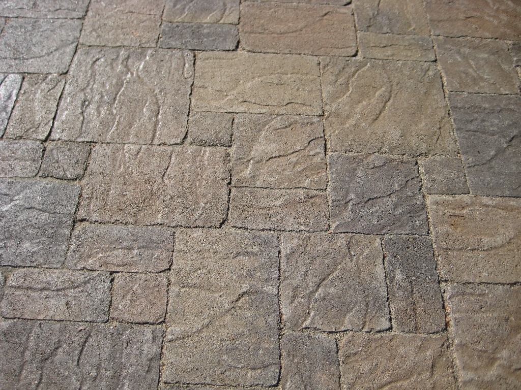 Variety Of Paver Stones Slate Paver Texture