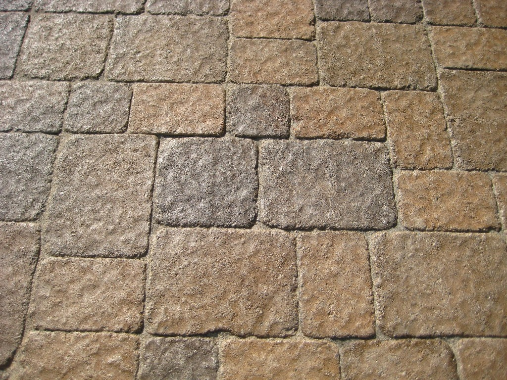 Tumbled and Embossed Paver Texture