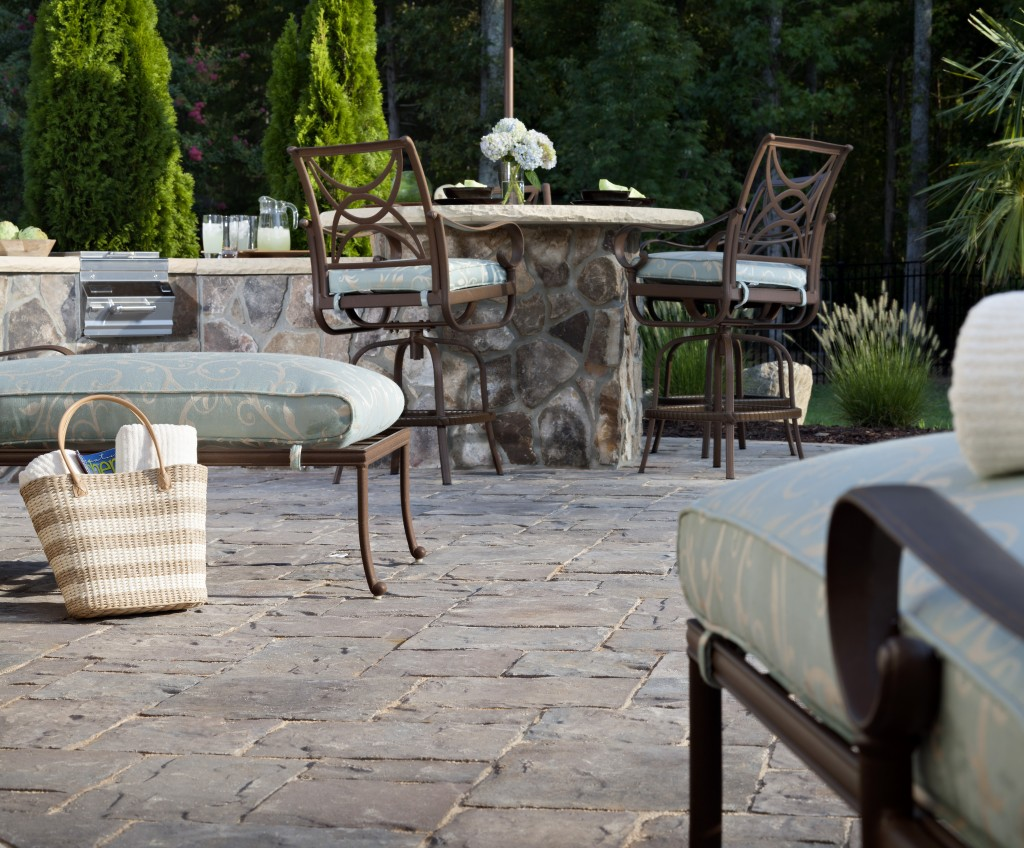 Patio Pavers Cost. Concrete Vs Pavers Cost Guide Patio
