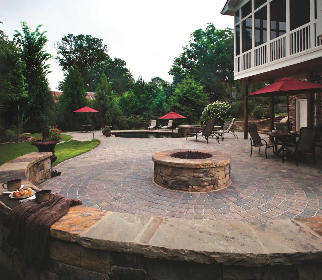 circle kit paver pattern design ideas - Patio Paver Design Ideas