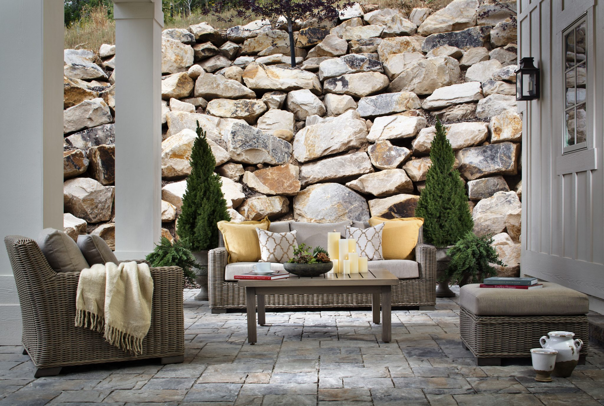 paving stone design ideas