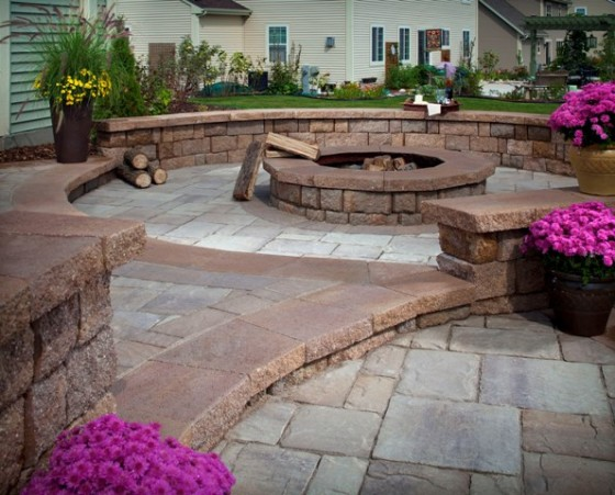 Outdoor Fire Pit Installation Company