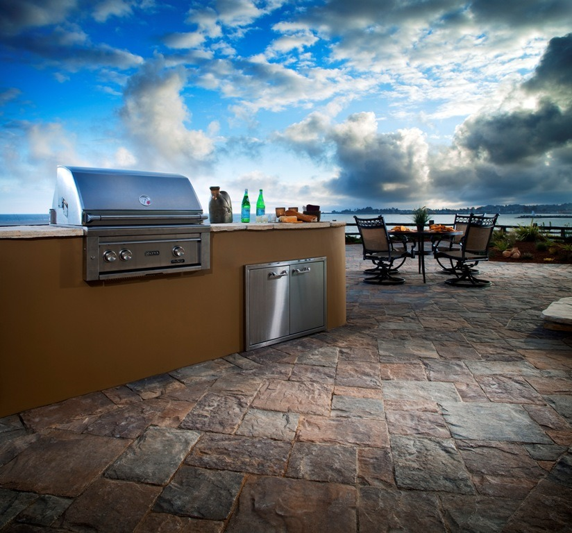 Green Outdoor BBQ Ideas
