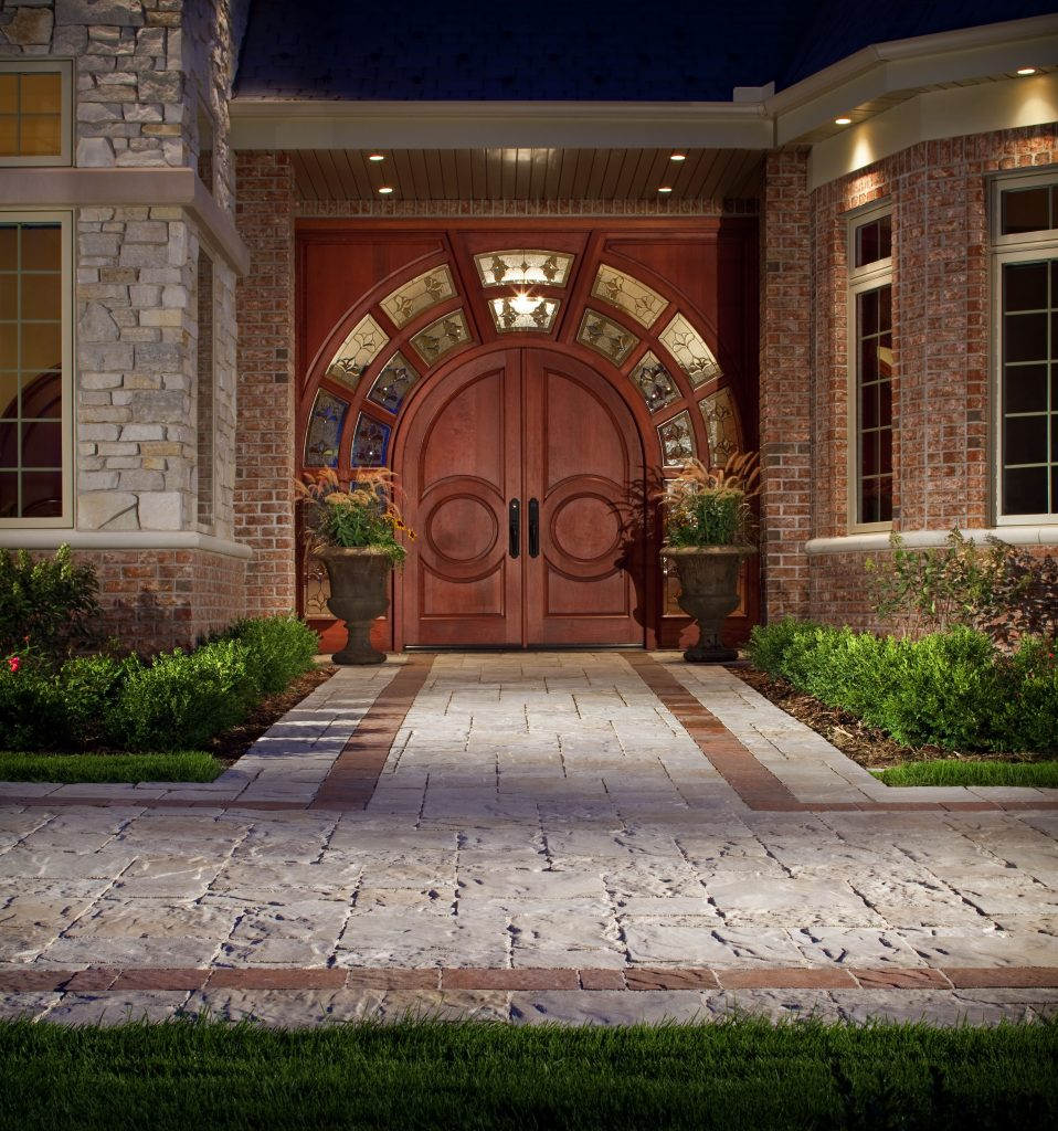 cost for stamped concrete and pavers