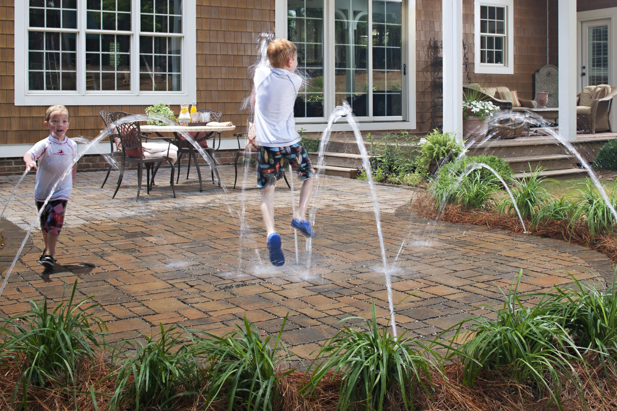 Moisture Can Lead To Moss on Pavers