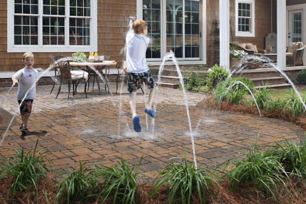 Small Uneven Backyard Ideas : How much do Pavers Cost to install? (Get the inside scoop)