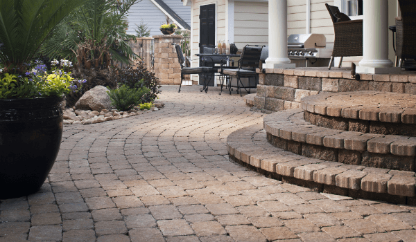 Cost of pavers install