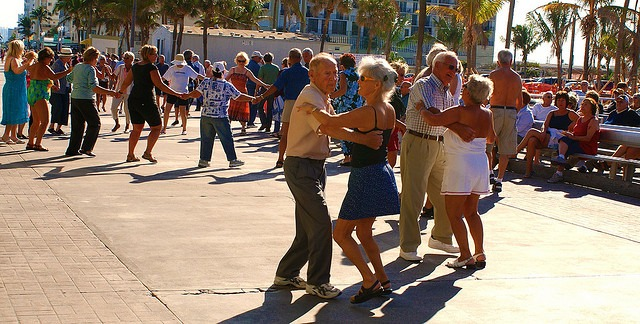 Senior Living Outdoor Activities: Dancing