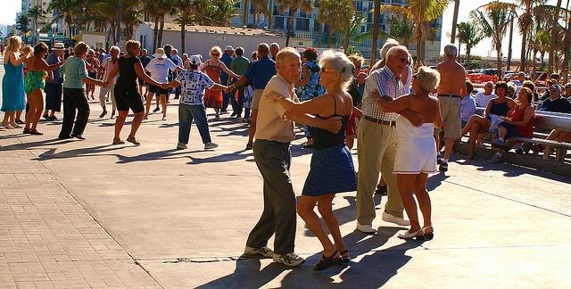 Senior Living Outdoor Activities: Dancing