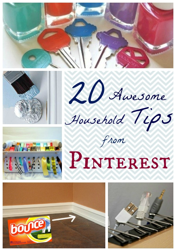 20 household tips from pinterest organize clean decorate for Household hacks