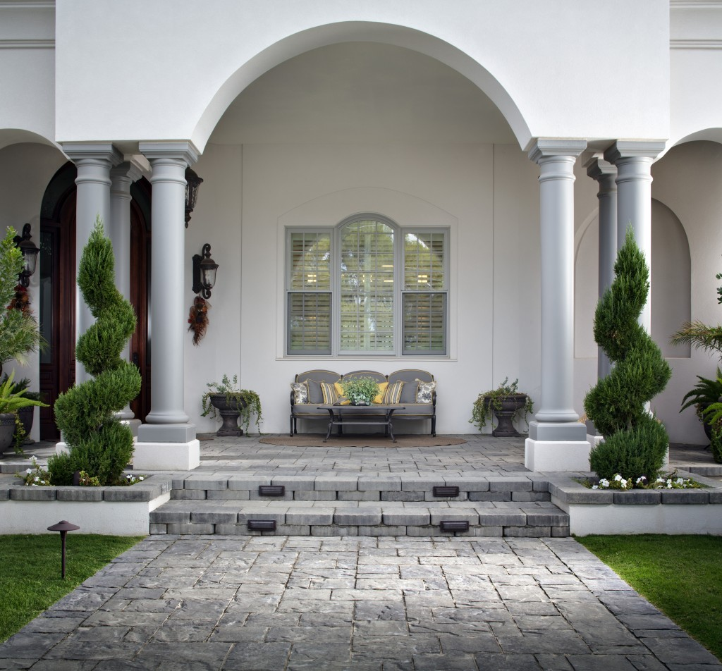 Outdoor Patio Slate Tile Flooring