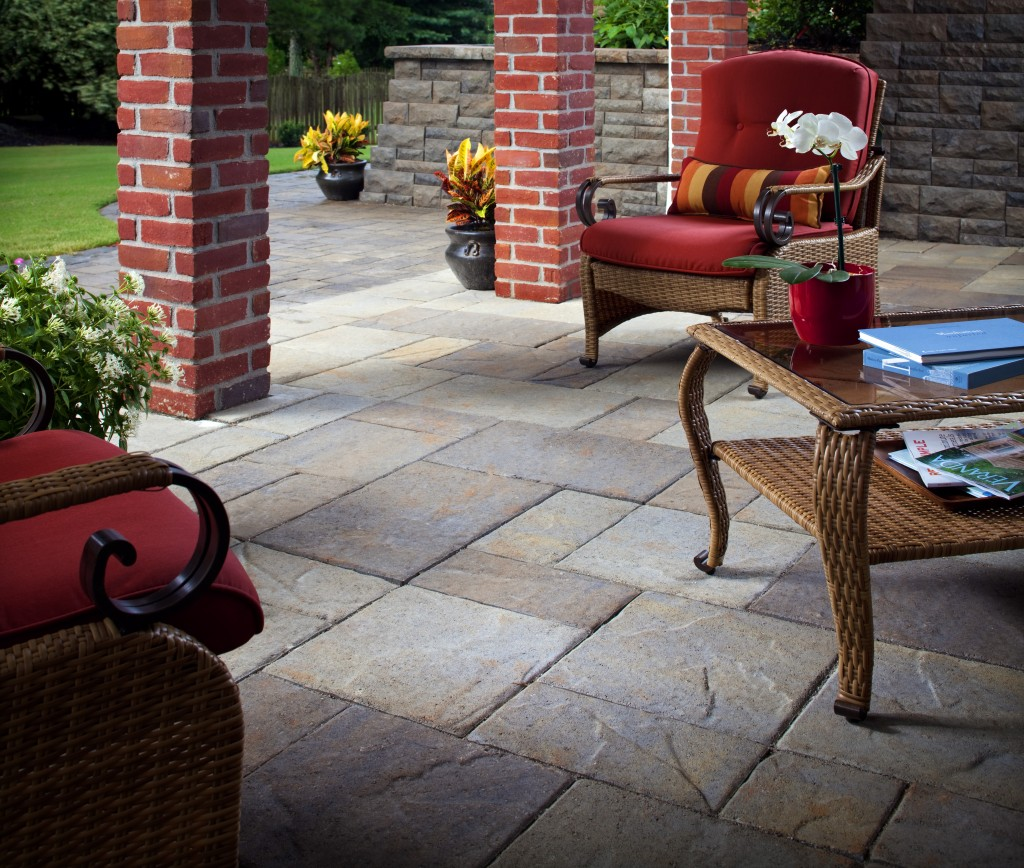 Outdoor slate tile patio flooring options expert tips install outdoor patio slate tile dailygadgetfo Images