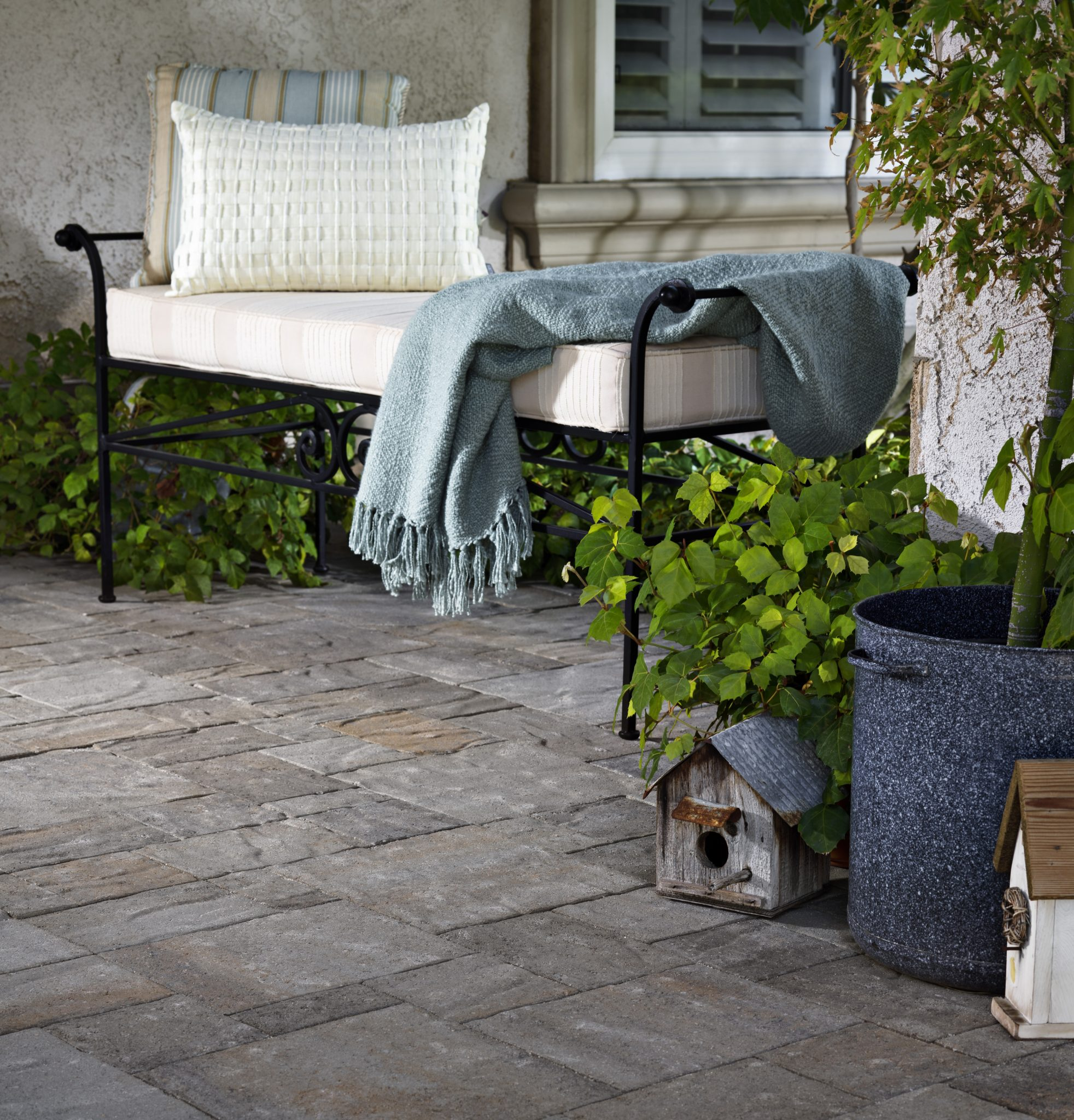 Awesome Outdoor Slate Tile: Patio Flooring Options + Expert Tips | INSTALL IT DIRECT