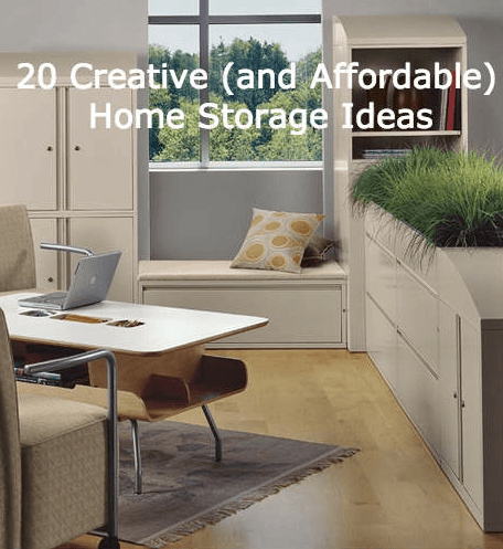 Creative Home Storage Ideas