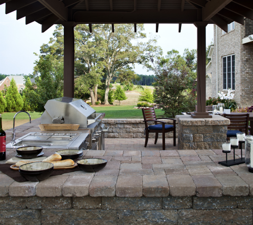 Outdoor Patio Kitchen Styles
