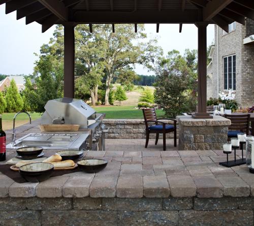 Outdoor Patio Kitchen Styles