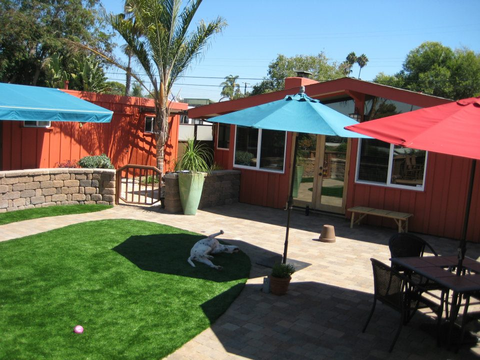 Use Grass: Synthetic Turf