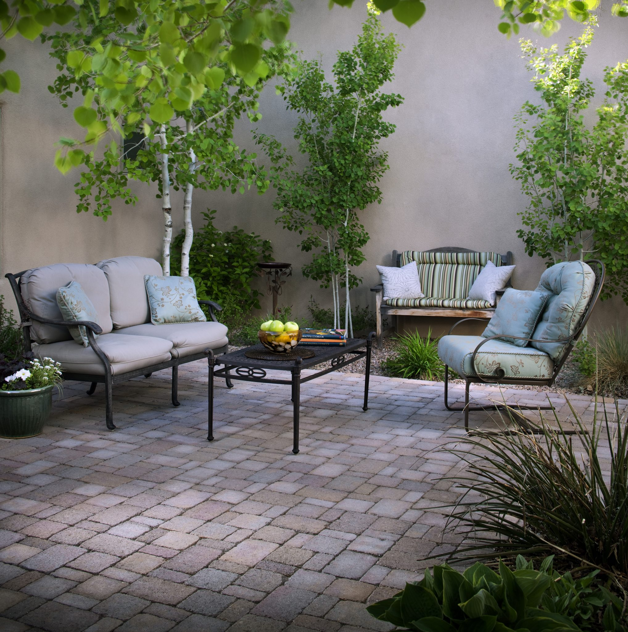 Improve An Outdoor Area With The Addition Of New Floor Tiles