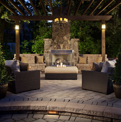 outdoor landscape lighting tips  ideas  installitdirect, Backyard Ideas