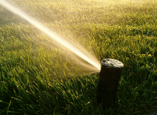 Sprinkler conservation