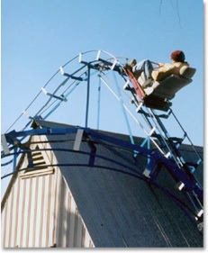 Crazy Backyard Installations: backyard rollercoaster