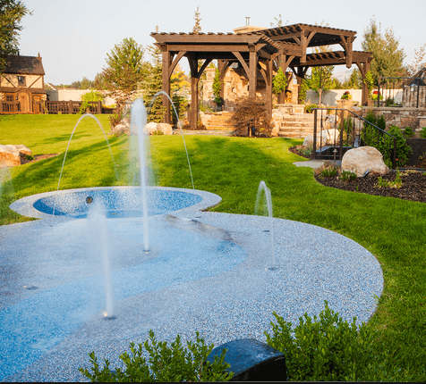 Splash Pad - Kid-Friendly Backyards San Diego