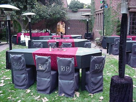 Halloween setting