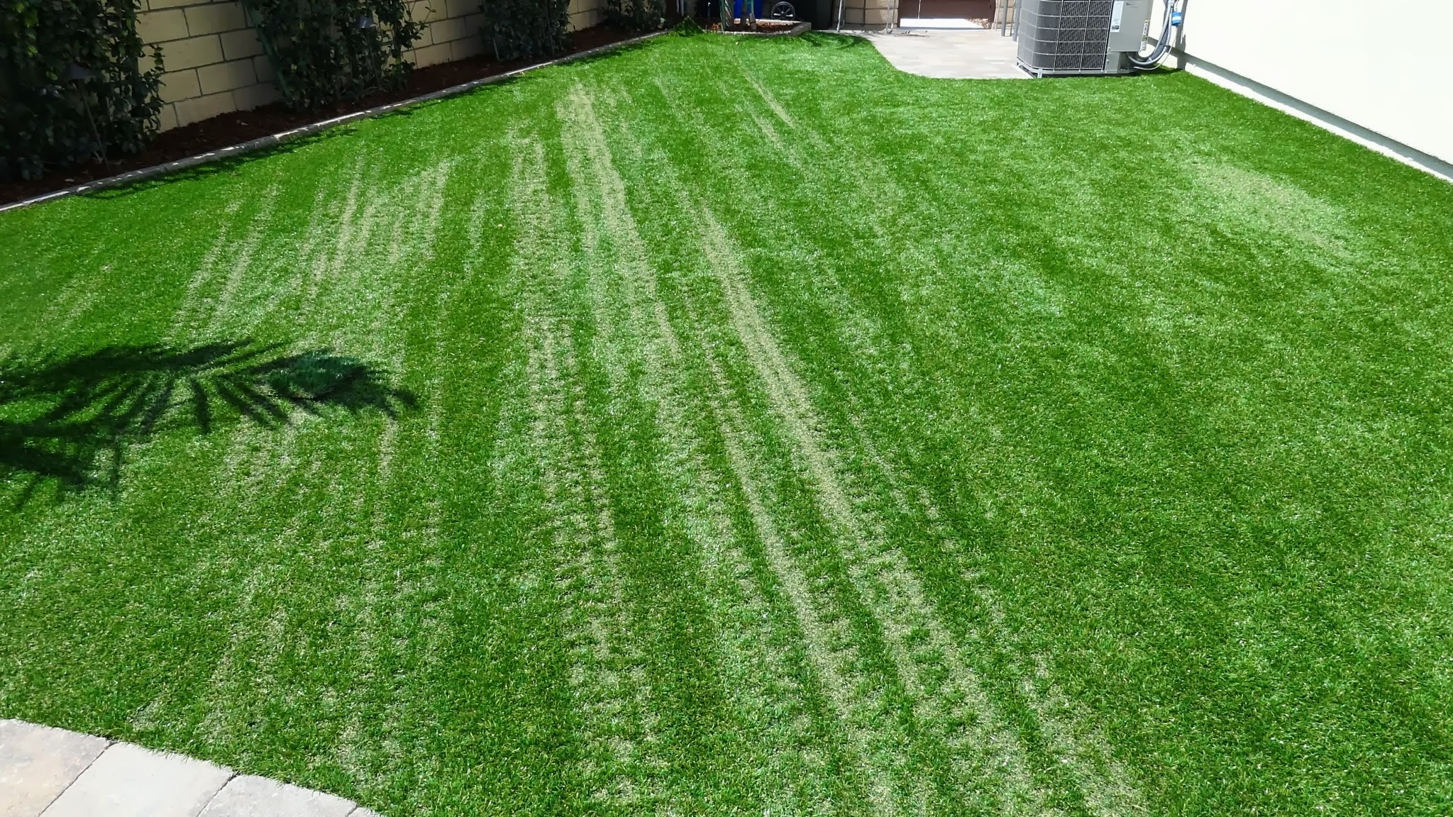 Melting Synthetic Turf