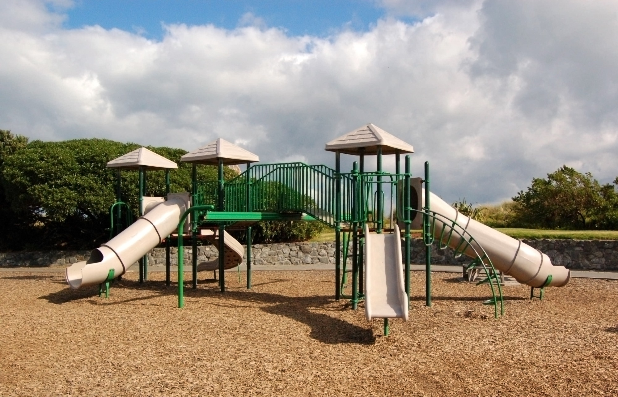 Backyard Playground Best Ground Cover Options Guide INSTALLIT - Backyard playground equipment