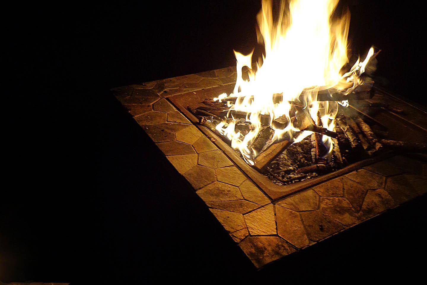 Backyard Bonfire Safety : Outdoor Entertaining Tips Backyard Fire Pit Safety and Maintenance