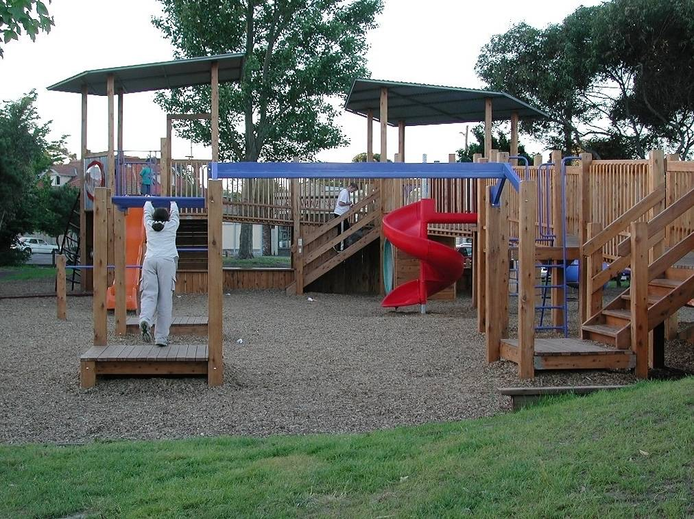 Wood Play Structure