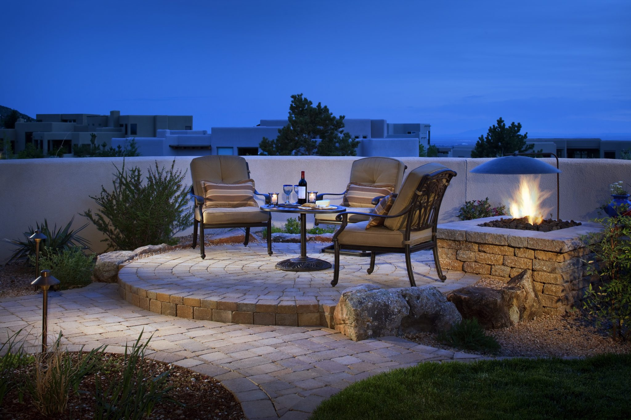 cleaning outdoor cushions + patio furniture