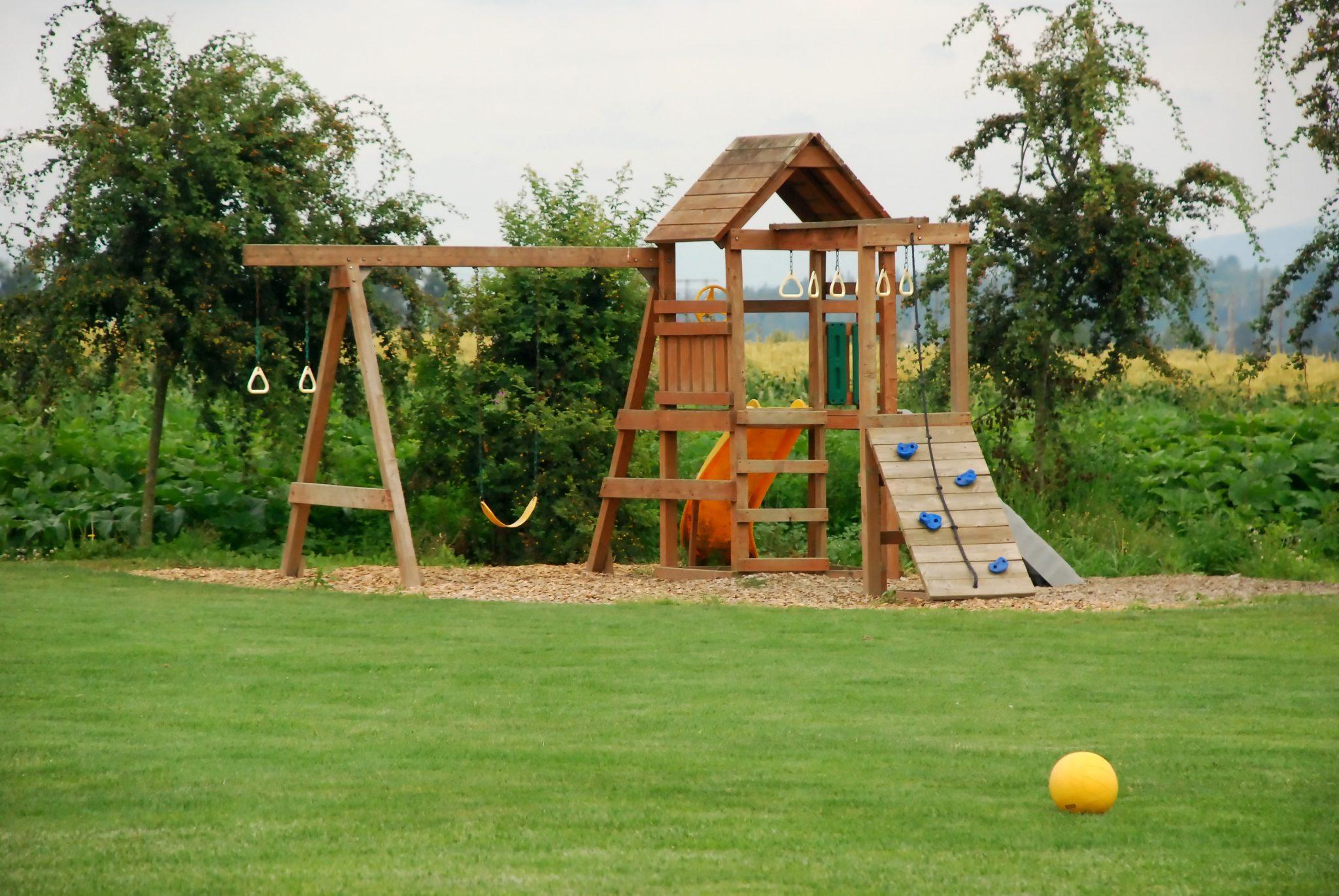 Backyard Playground: Ground Cover Options