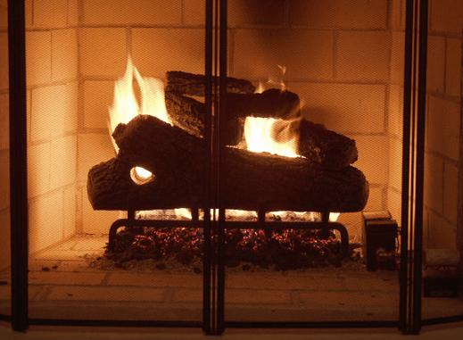 Winterize your fireplace