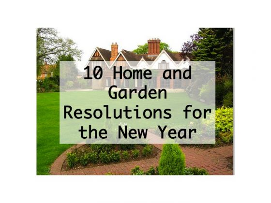 Home and Garden Resolutions