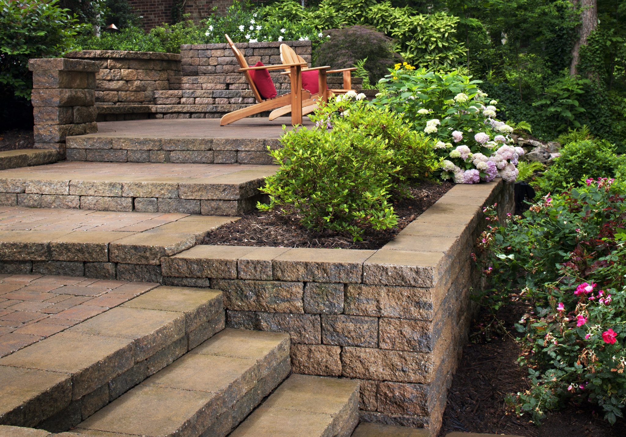 Steep Backyard Ideas : Landscaping Ideas For Hillside Backyard Slope Solutions  INSTALLIT