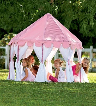 Pink Party Pavilion Play Tent