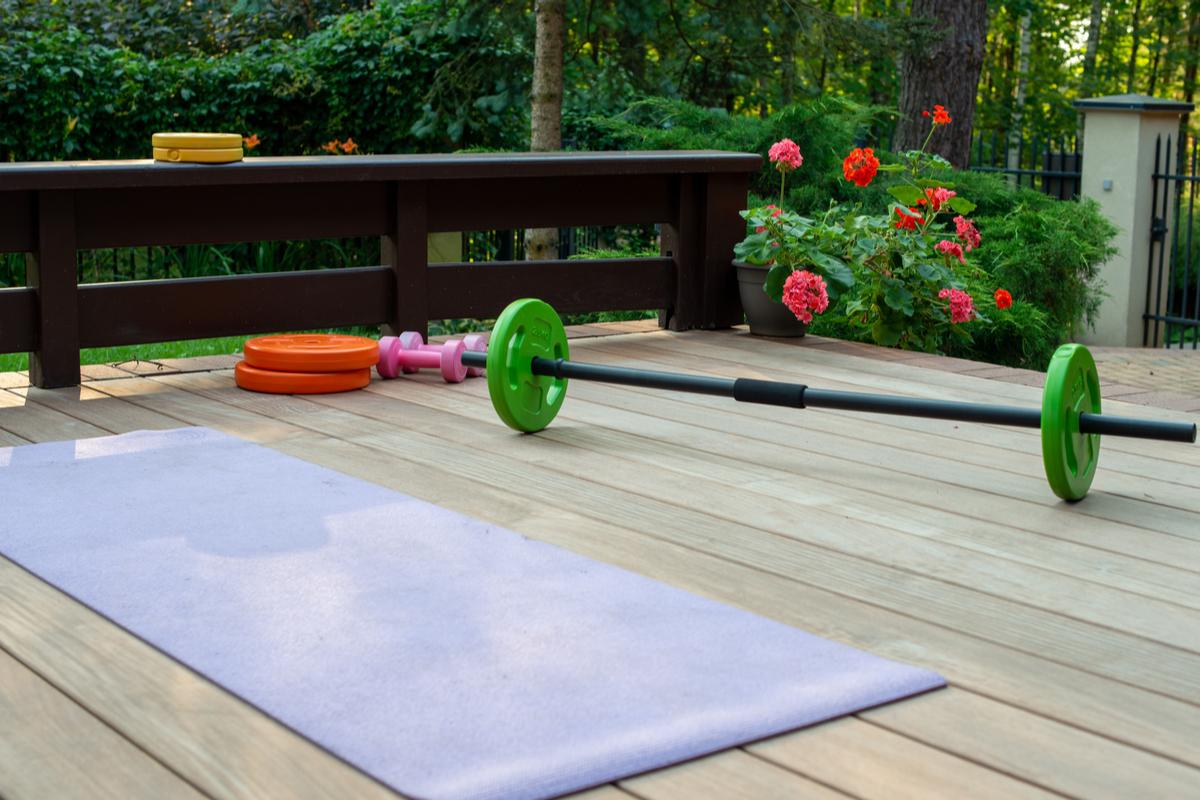 Outdoor Home Gym Ideas