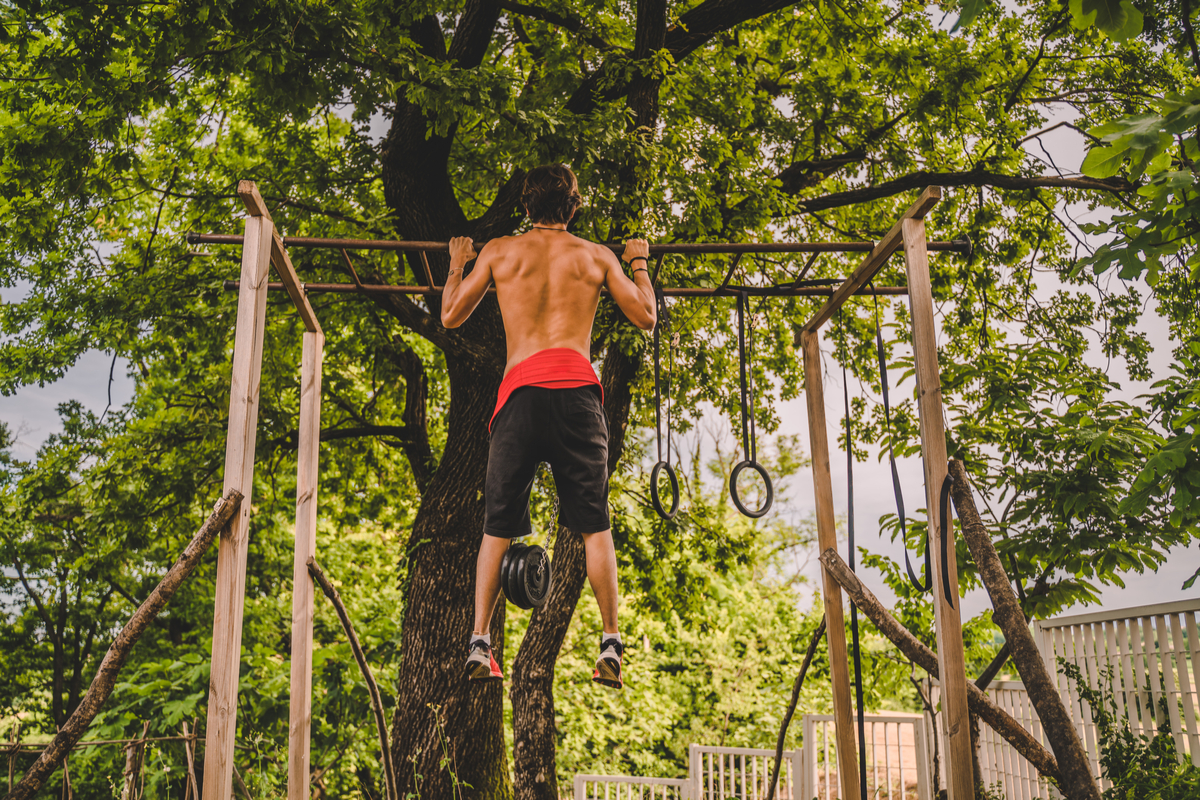 Outdoor Home Gym