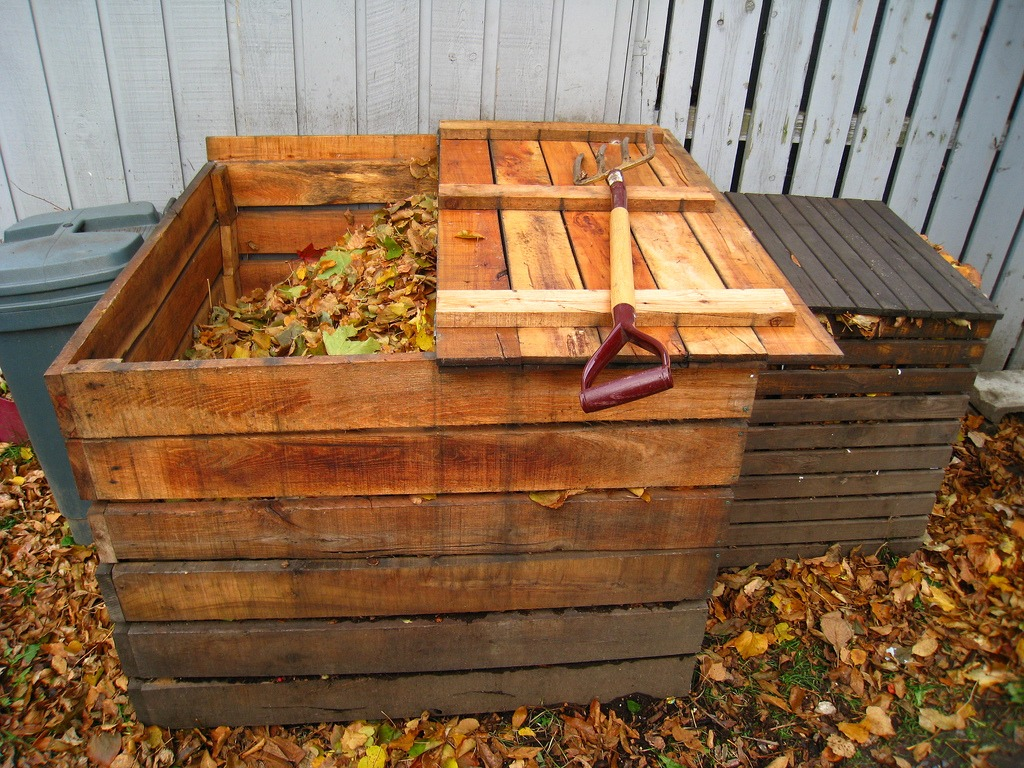 reduce waste by composting