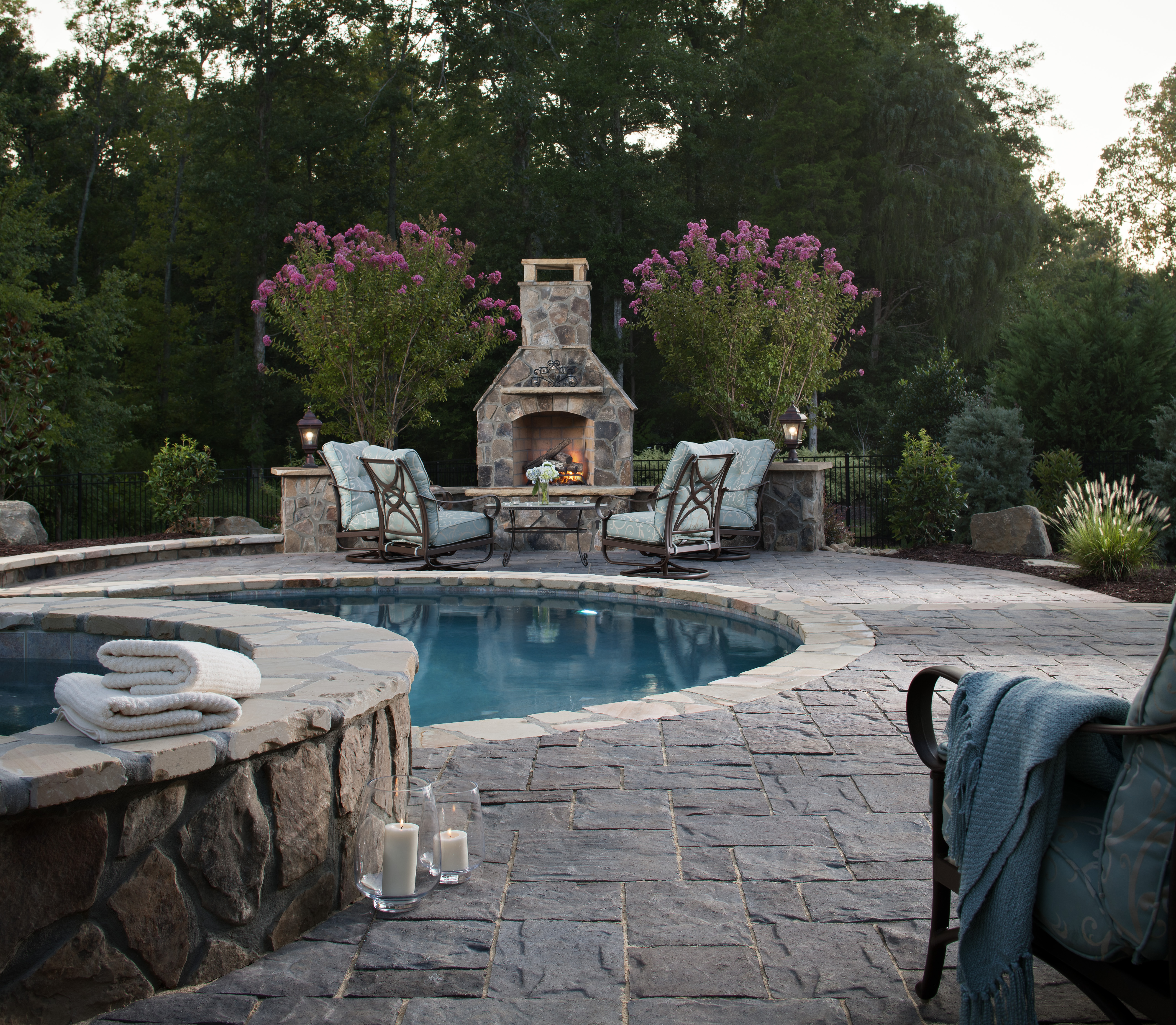How To Get Your Pool Ready For Summer | INSTALL-IT-DIRECT on Pool Deck Patio Ideas id=34666
