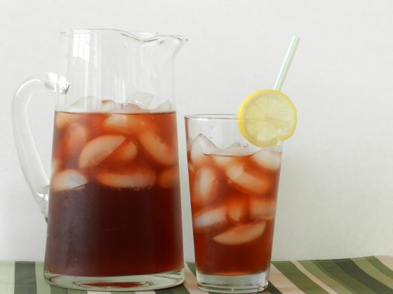 Flavored lemonades are perfect for parties.