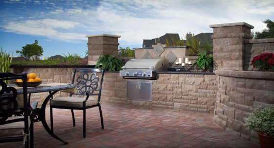 Built-In Barbecue Grill
