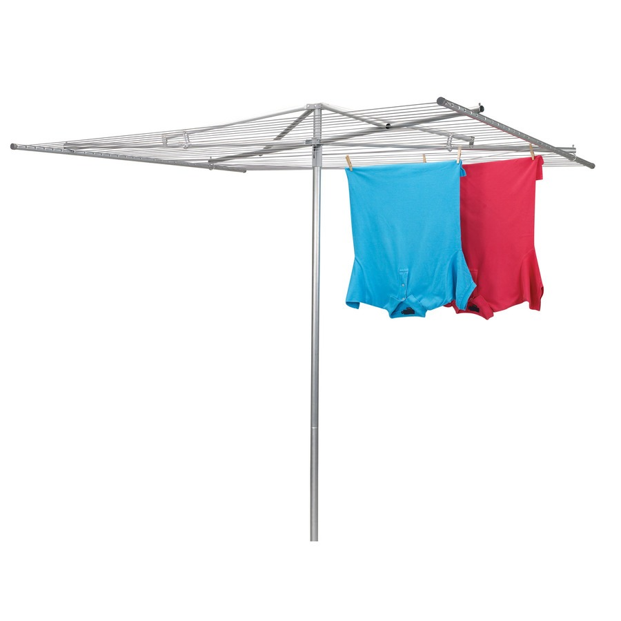 Folding Umbrella Clothesline Sold at Lowes