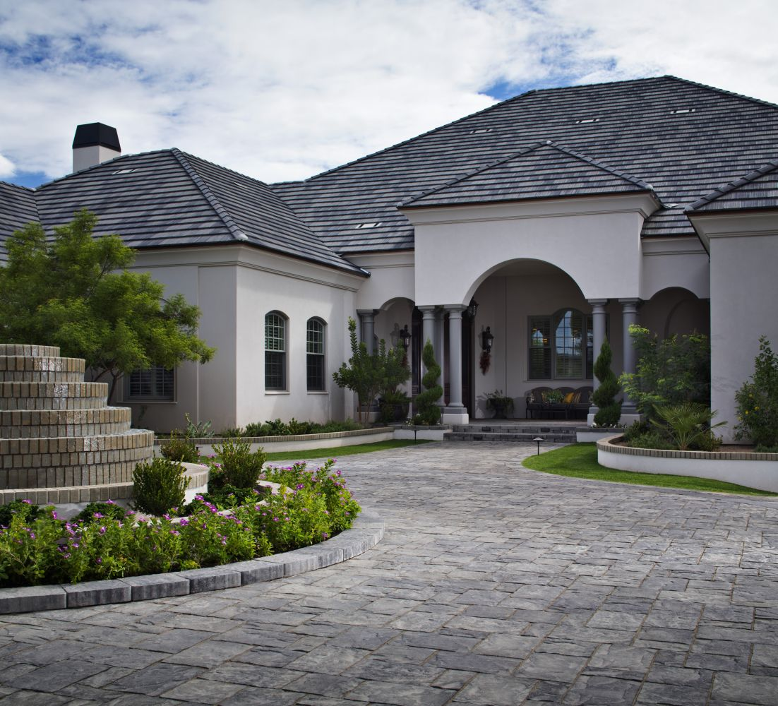 how to design a driveway - Driveway Design Ideas